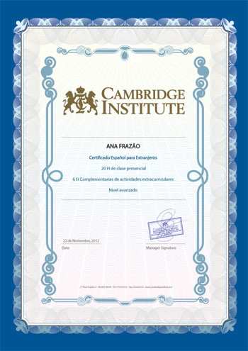 Joining-Certificate